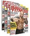Muscle and Fitness magazin 2015 év összes lapszám