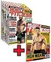 Muscle and Fitness magazin 2016 év összes lapszám