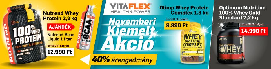 Vitaflex Novemberi akció