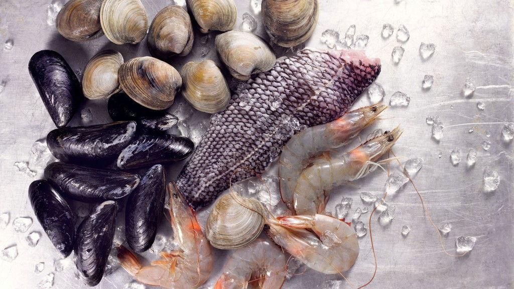 Kagyló főtt fagyasztott és diéta